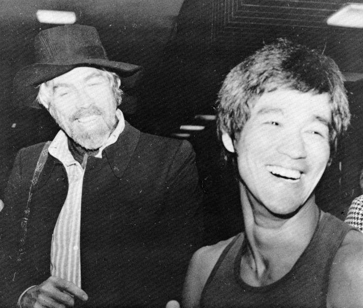 James coburn and Bruce