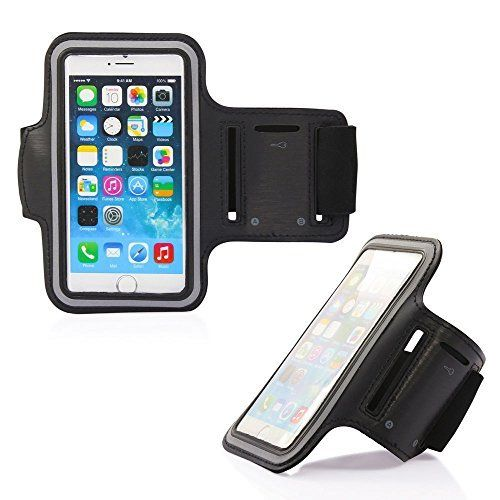 GT-infinity Fitness Sport Armband for iPhone 6S, 6S plus, 6 plus, Samsung Galaxy S6|Note 5-Best for workouts, Running, Biking, Hiking, or any fitness activity or in the Gym (Black). ENRICH YOUR EXERCISE EXPERIENCE: Listen your favorite music, radio station, audio book or use a fitness app while you are wearing the professional armband. Can be used for many different sports, gym and any exercise activities. PREMIUM-QUALITY DURABILITY: Made with top-quality water-resistant fabric that…