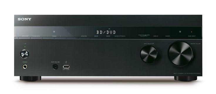 Sony nye AV-receivere, STR-DN850 og STR-DN1050,  støtter DSD-filer, har innebygget trådløst nettverk og blåtann, og kommer med Spotify.