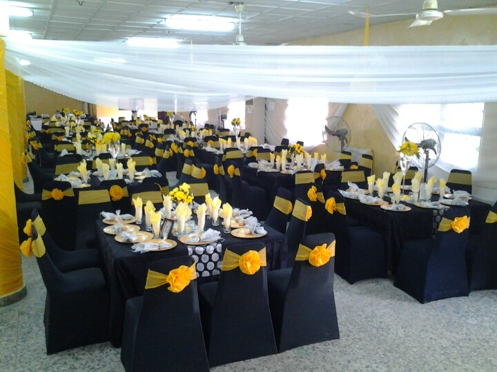 79 best my decor jobsabby design events ltd images on pinterest our latest job its a black white n yellow theme weddingntracts ify junglespirit Images