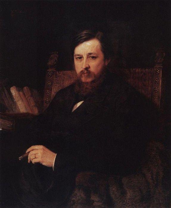 Portrait 111. Константин Егорович Маковский