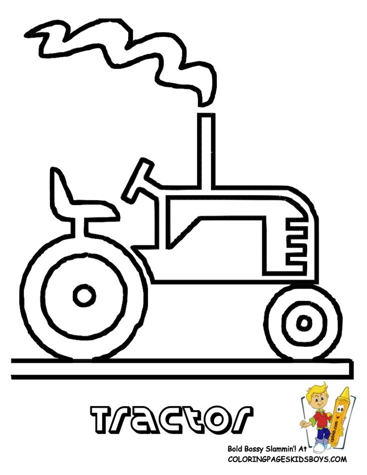 Tractor Colouring In Pages John Deere : Best 20 farm coloring pages ideas on pinterest kids pictures to