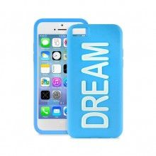 Forro iPhone 5C Puro - DREAM Silicona Azul fluorescente  CO$ 54.459,36