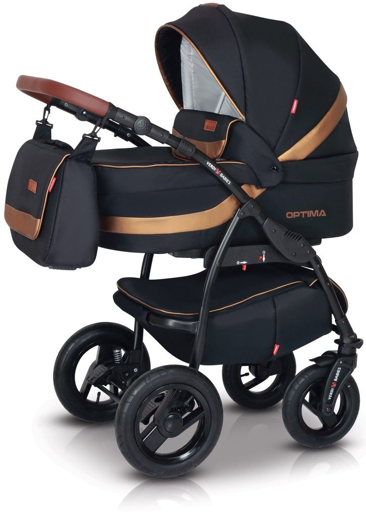 Buggy 3in1 Travel system with car seat OPTIMA Eco line