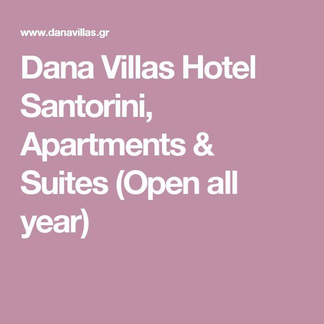 Dana Villas Hotel Santorini, Apartments & Suites (Open all year)