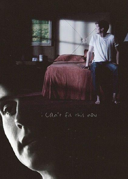 Isaac #TeenWolf --- this was so sad! I cried! Poor Isaac!