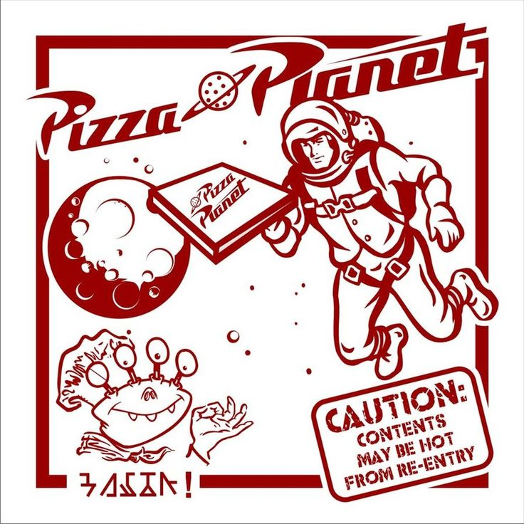 Pizza Planet Box by ~Cedar-Street-Studio on deviantART