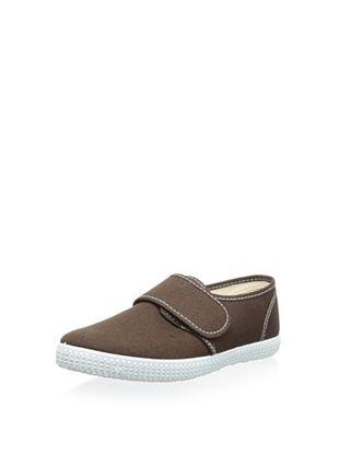45% OFF Cienta Kid's Hook-and-Loop Sneaker (Marron)