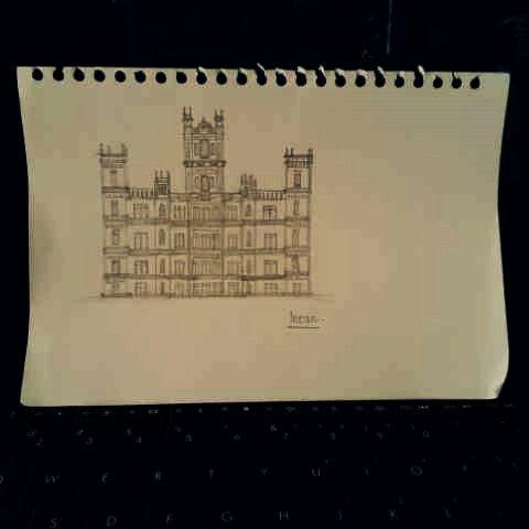 Highclere Castle, England.