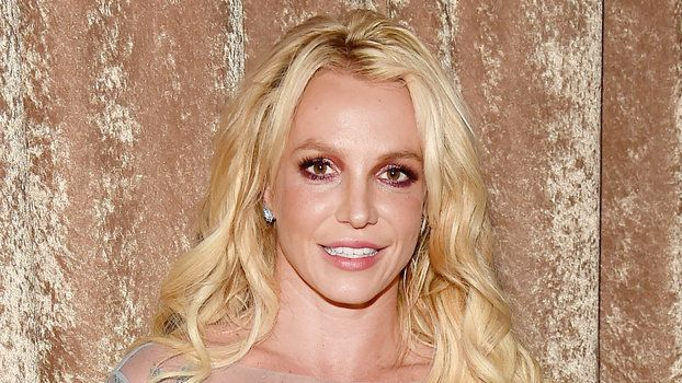 Britney Spears Goes Casual in Coral During a Dinner Date with Her Buff Boyfriend