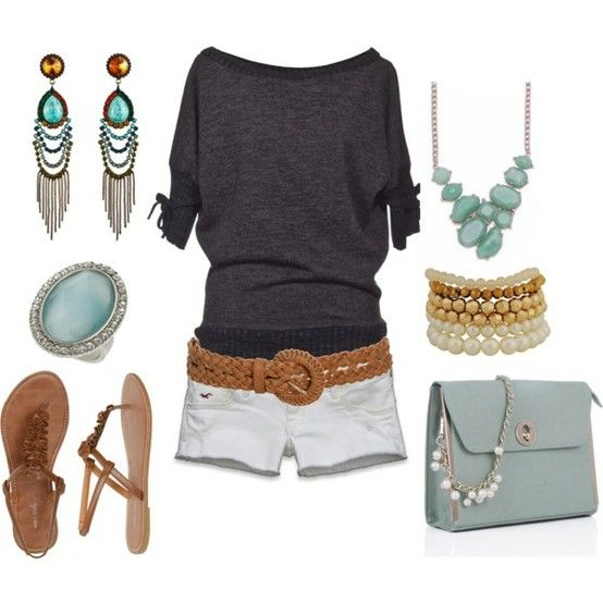 25 Summer Outfits {fashion 2012 | Pinterest | Purse, Bracelets and Summer