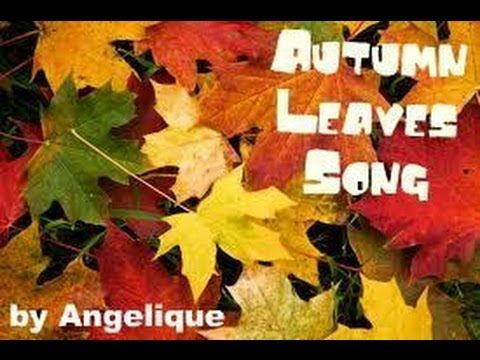 'What happens at AUTUMN' - song for young children