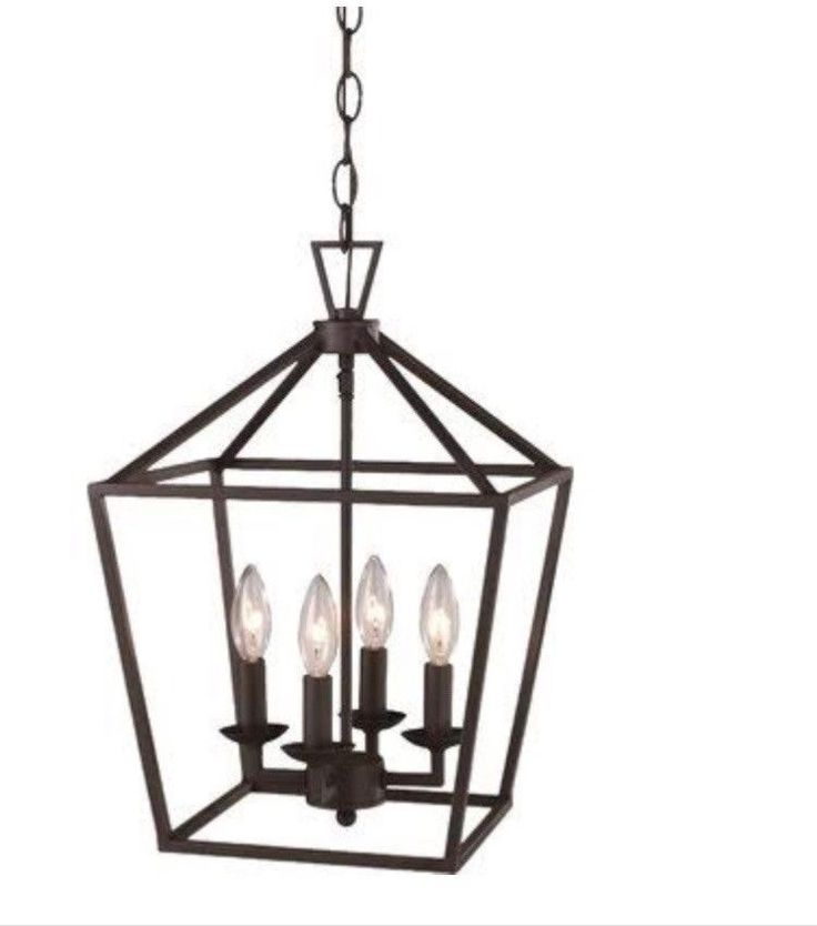 Laurel foundry modern farmhouse carmen 4 light pendant