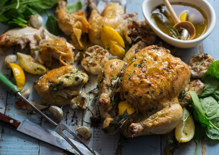 Whole #roasted #chicken perfect for a #salad, #soup or quick #curry! #Dinnersorted #Quickrecipes