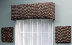 Make your own styrofoam window cornice