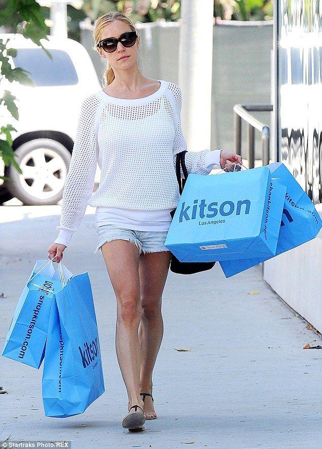 Kristin Cavallari.. Mng by Mango Long-Sleeve Mesh Sweater, Celine Mini Luggage Tote Bag, and  Kristin Cavallari For Chinese Laundry Gigi sandals..