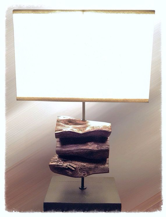 Driftwood Lamp by Seaside Home Accents   #reclaimed  #driftwood #lamps #lighting #seaside #upcycled #wood #beachwood #accents #seasidehomeaccents