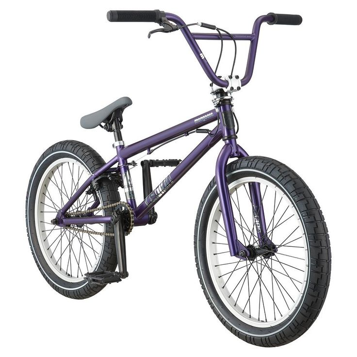 Youth Mongoose 20-Inch Legion L40 BMX Bike, Purple