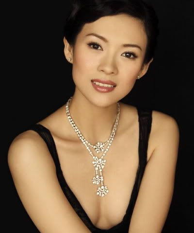 Zhang Ziyi is the MOST BEAUTIFUL. and very little boobies indeed.