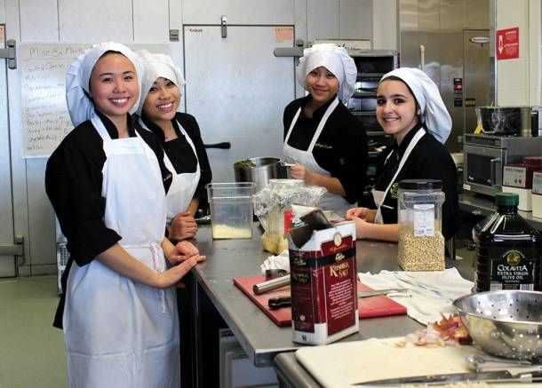 The Culinology program at Bergen County Technical HIgh School in Teterboro  blends the science and technology