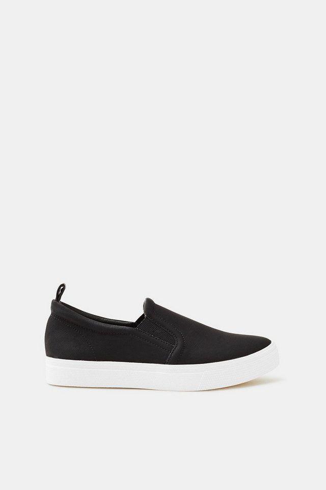 Outlet-Store Online-Einzelhändler sehr günstig Esprit Slip On-Sneaker in Leder-Optik | Produktkatalog ...