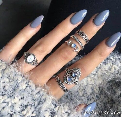 Rings #stacked #midi #opal #silver