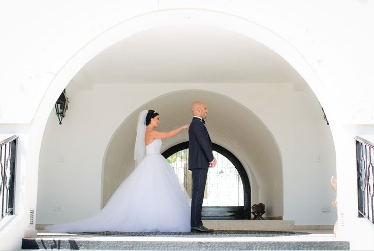 First Look, Los Cabos Wedding, Bride and Groom First Look, First Look Photos