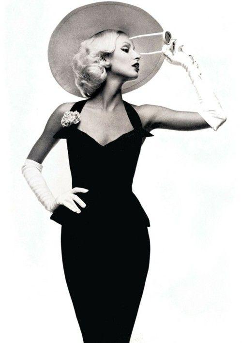 Vogue Italia, 1972. Class. The peplum dress is back in fashiion.