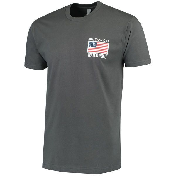 Team USA Olympic Water Polo TURBO T-Shirt - Gray - $24.99