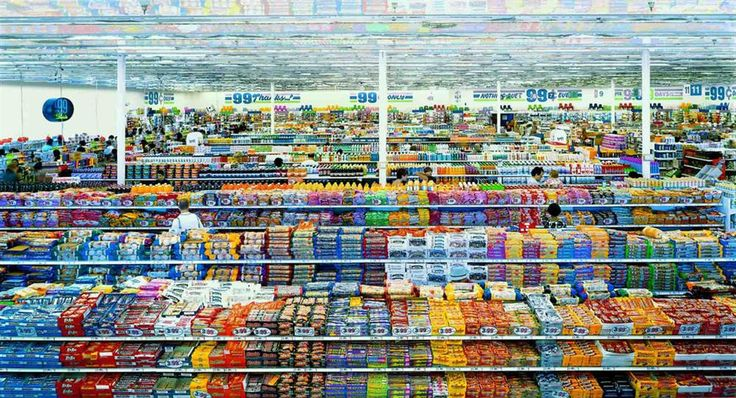Andreas Gursky 99 Cent Store