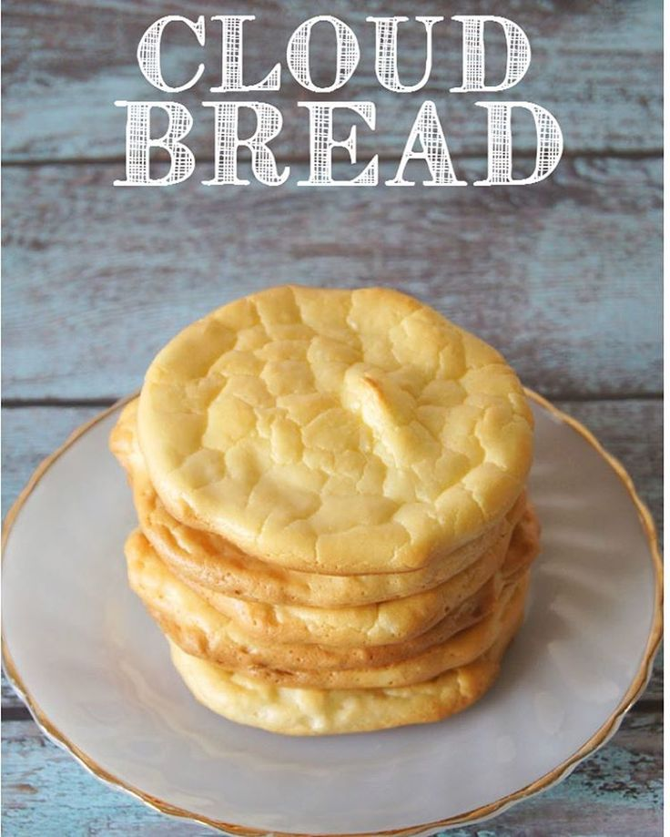 Cloud Bread - das Low Carb-Fladenbrot | LECKER