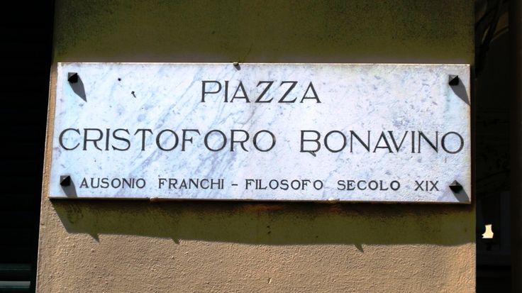Pegli Genova (Italy - Liguria). Piazza Bonavino.