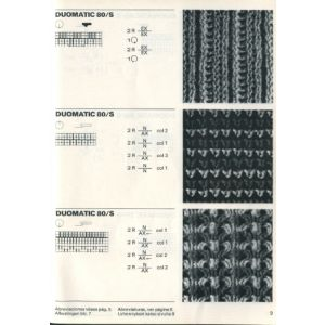 Link to download Passap Stitch Patterns for Duomatic 80 - Passap Patterns and Magazines - Passap