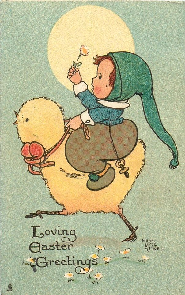 vintage #Easter illustration