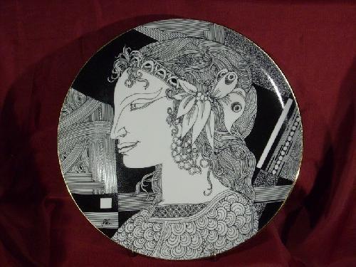 Hollóházi Szász Endre porcelán