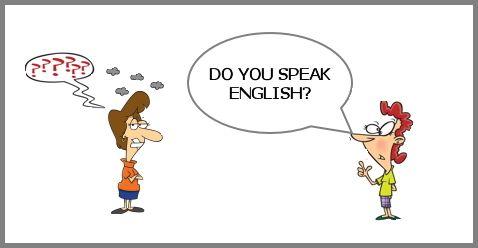 Beszélj te is angolul.