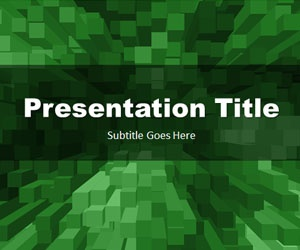 Stacked Boxes Green PowerPoint Template is a free green template slide for your PowerPoint presentations