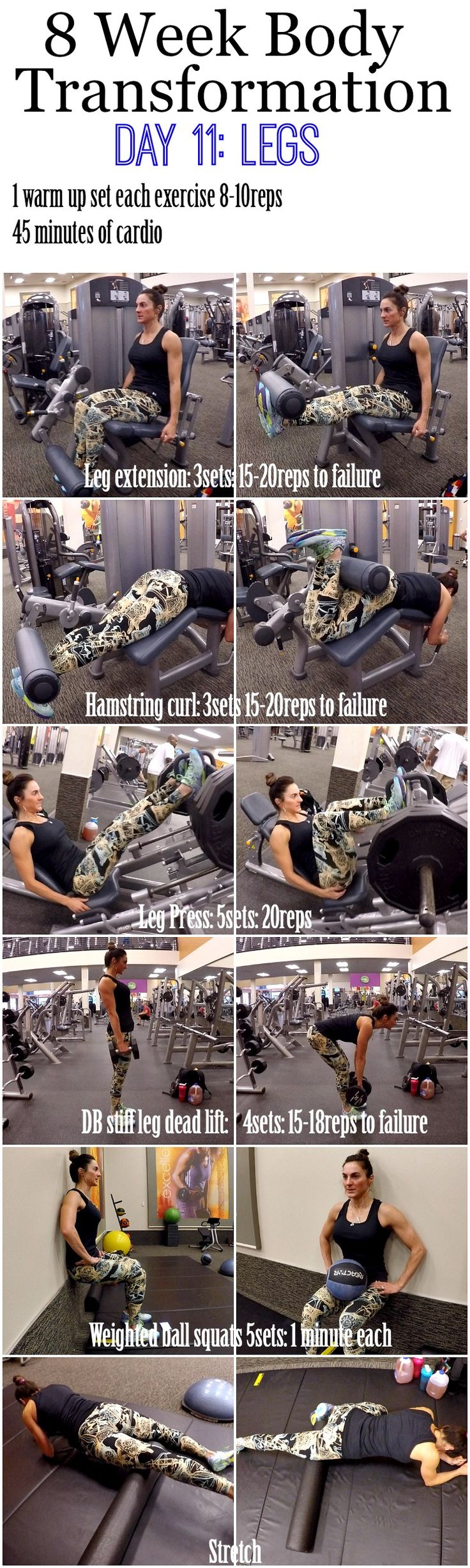 Welcome to Day 11, another day of LEGS. Yesterday, Day 10 was an active rest day so make sure to get your cardio in, but leave the weights alone. Today we have 5 exercises for legs, so make sure to watch the video and pay attention to the different sets/reps in this workout. We have …