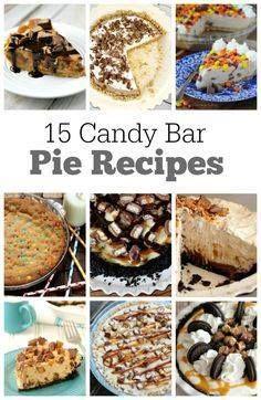 15 Candy Bar Pie Rec 15 Candy Bar Pie Recipes : these easy pie...  15 Candy Bar Pie Rec 15 Candy Bar Pie Recipes : these easy pie recipes are all made with candy bars! Recipe : http://ift.tt/1hGiZgA And @ItsNutella  http://ift.tt/2v8iUYW