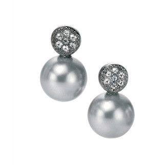 Fiorelli Sterling Silver Pearl Elements Earrings - yourgifthouse