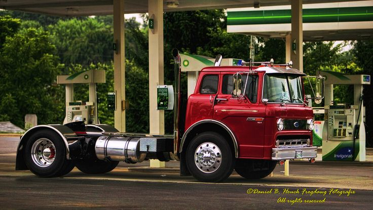 Semi-custom Ford C-800 tilt-cab tractor