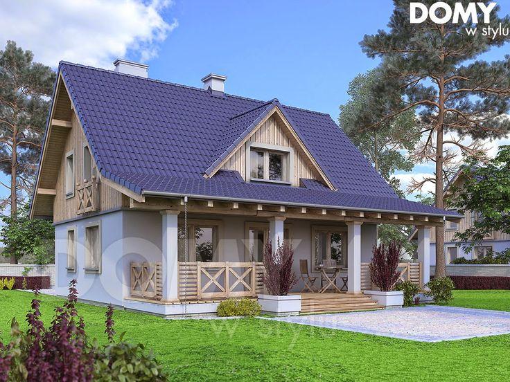 Budowa domu i weranda. - PROJEKT DOM