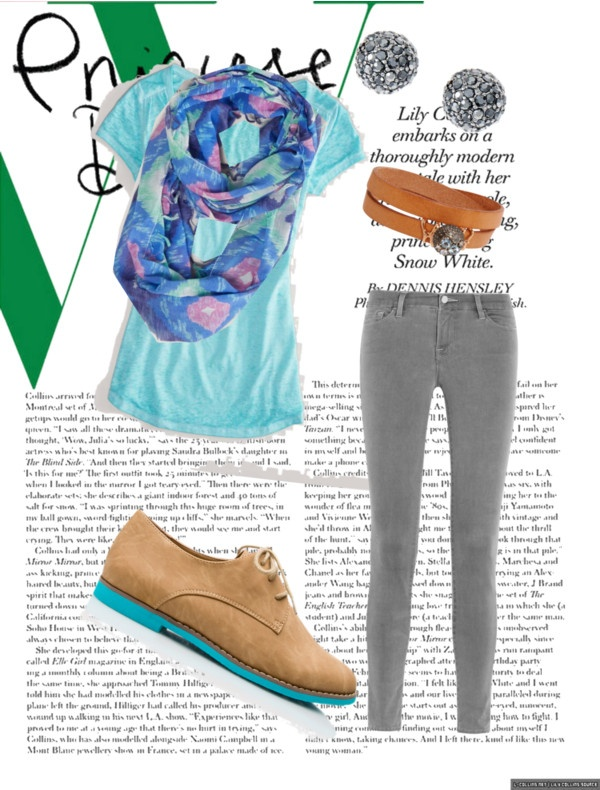 """simple school outfit"" by ella-a-crickenberger ❤ liked on Polyvore"