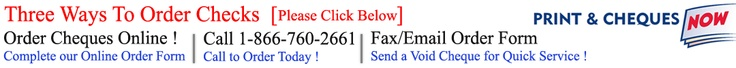 Order Cheques | Business Cheques | Cheque Printing | Order Business Cheques