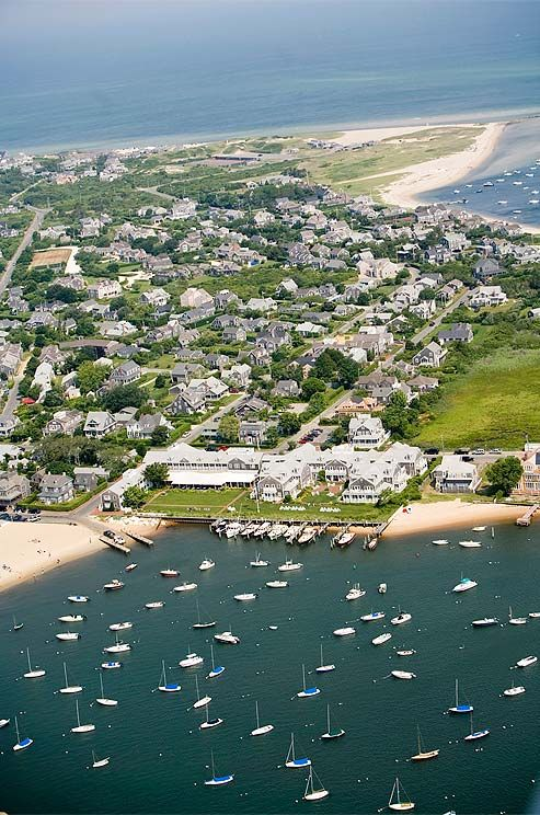 Bustling with beach-goers in the summer, Nantucket is a quaint and romantic destination for an off season wedding.
