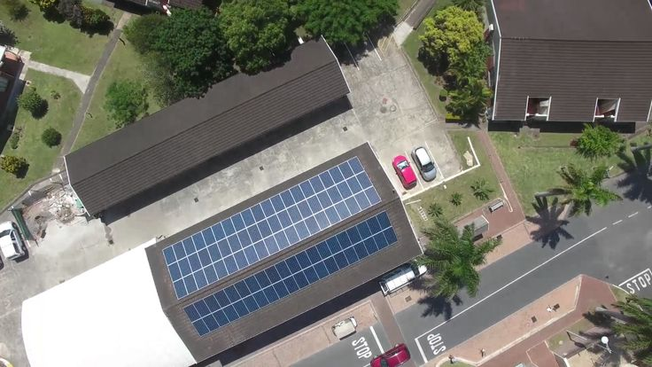 In this amazing #aerialview #video we see how @SolterraKZN is bringing #SolarPower to the #KZNsouthcoast! #GoingGreen