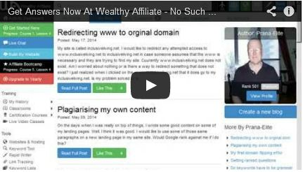 Unlimited support to help you build your online business.  This review and video explains everything you need to know about Wealthy Affiliate. http://inclusiveliving.net/the-wealthy-affiliate-business #businesssupport #internetmarketing #wealthyaffiliate