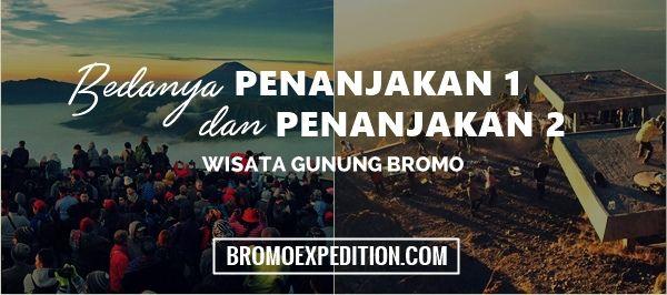 Perbedaan penanjakan 1 dan 2 bromo dimana keduanya merupakan view point sunrise di gunung Bromo. Informasi selengkapnya disini.