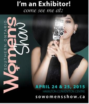 Exhibitor at the upcoming Southern Ontario Spring Women's Show in Hamilton, ON | April 24th - 25th, Hamilton  Convention Centre