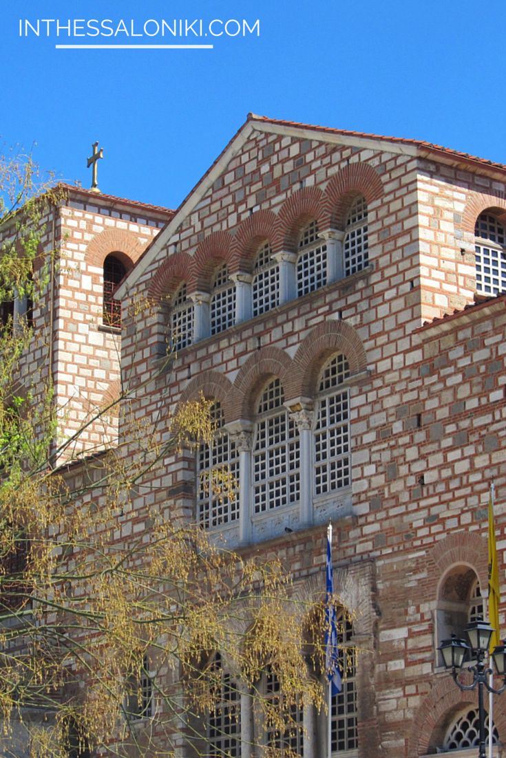 ● Hagios Demetrios, the Church of Saint Demetrios, arguably one of the most important churches of Thessaloniki.  Read more: http://www.inthessaloniki.com/en/agios-dimitrios#ixzz3VijS8Yy5